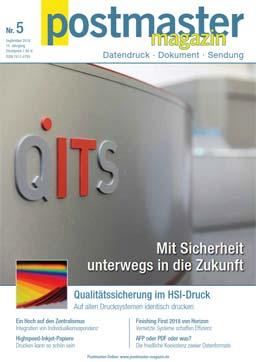 Postmaster Magazin - Magazin für Datendruck und Dokument